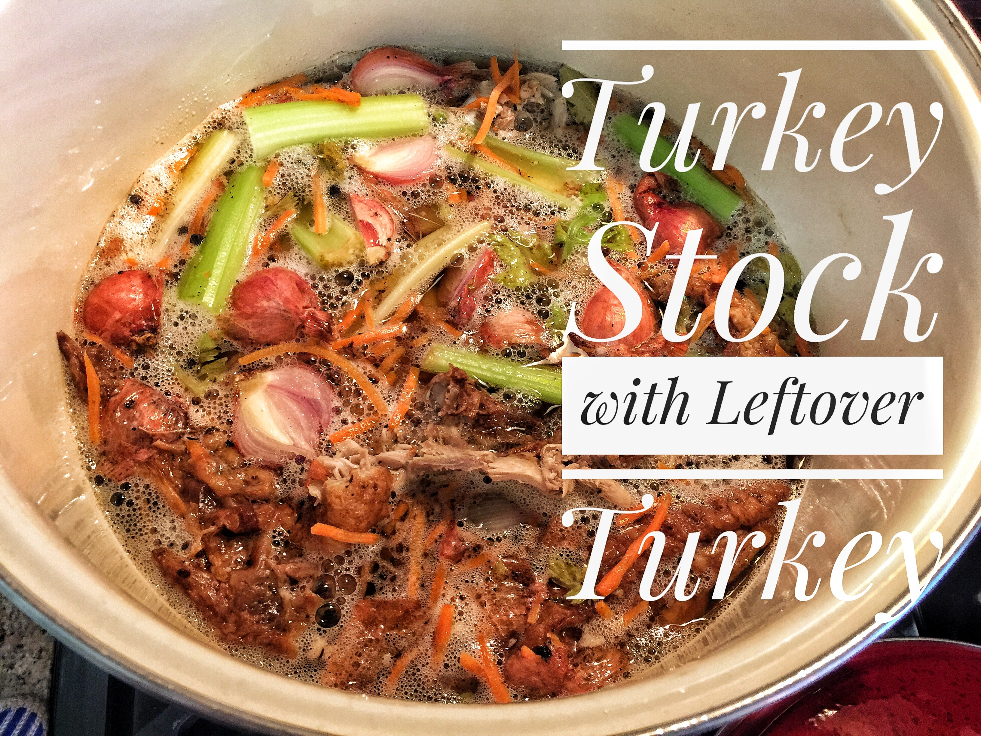 You've made turkey stock from your holiday bird. Now what? Can it! It's easy and not as scary as you think!